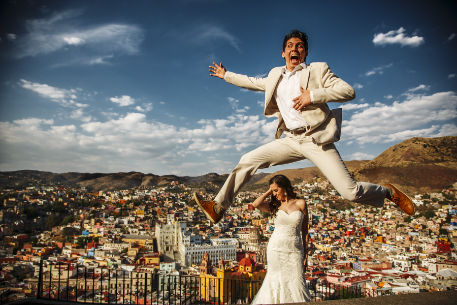 Guanajuato Sesion Trash the Dress